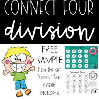 Connect Four Division Game - 8