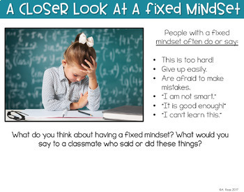 Growth Mindset Digital Activities | Distance Learning