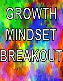 Growth Mindset Digital Breakout