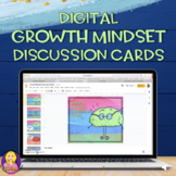 Growth Mindset Digital Discussion Cards | Digital Learning