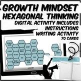 Growth Mindset Digital Hexagonal Thinking Activity