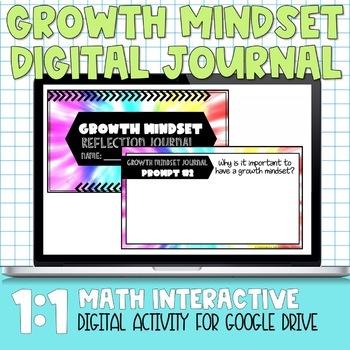 Growth Mindset Digital Reflection Journal