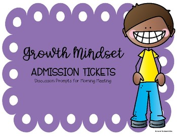 Growth Mindset Discussion Prompts (Primary Version)