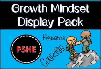 Growth Mindset Display Pack