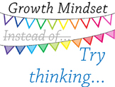 FREEBIE!!! Growth Mindset Display Posters