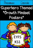 Growth Mindset Display (Superhero Themed)