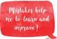 Growth Mindset Display- Watercolour Speech Bubbles