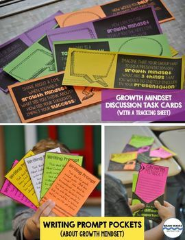 Growth Mindset Doodle Article, Doodle Notes, and Activities