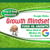 """Growth Mindset Drag & Drop Interactive: """"Fixed vs. Growth"""""""