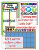 Growth Mindset Editable Tags Labels Signs Class Decor for Back to School