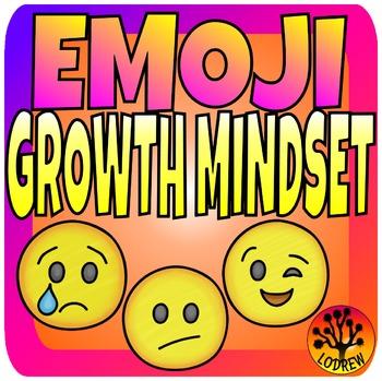 Growth Mindset Activities Centers Brag Tags Emoji Math Literacy Emoticons