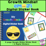 Growth Mindset Emoji Digital Sticker Book and Stickers