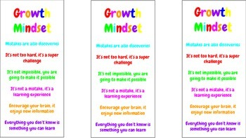Growth Mindset Encouragement