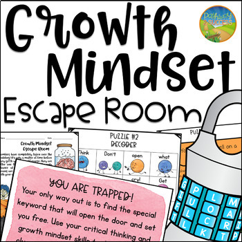 Growth Mindset Escape Room