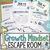 Growth Mindset Escape Room Breakout Activity
