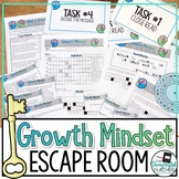 Growth Mindset Escape Room Breakout Activity