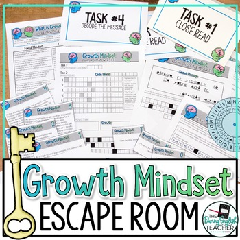 Growth Mindset Escape Room Activity