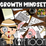 Growth Mindset Escape Room | Distance Learning