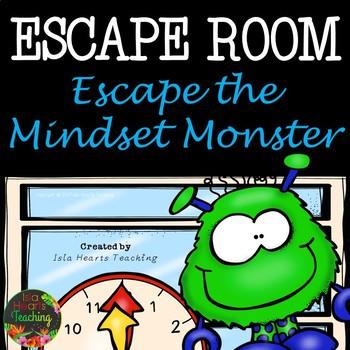 Growth Mindset Escape Room (Growth Mindset Activity)