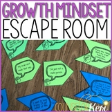 Growth Mindset Escape Room: Growth Mindset Activity for School Counseling