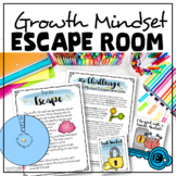 Growth Mindset Escape Room (Middle School and High Schoo)