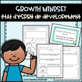 Growth Mindset - État d'esprit de developement (Bilingual English & French)