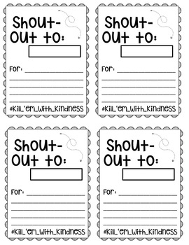 Growth Mindset Exit Tickets and Reinforcer