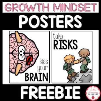 Growth Mindset FREEBIE Posters