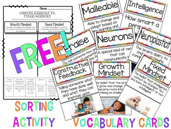 Growth Mindset FREEBIES
