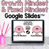 Growth Mindset & Fixed Mindset Digital for Google Slides™ Distance Learning