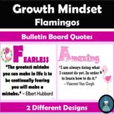 Growth Mindset Flamingos Bulletin Board