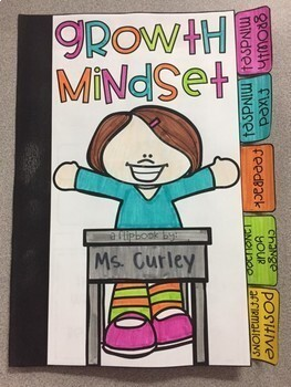 Growth Mindset Flip Book