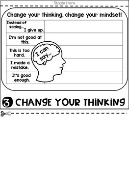 Growth Mindset Flip Book (NO PREP)