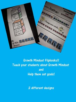 Growth Mindset Flip Books!