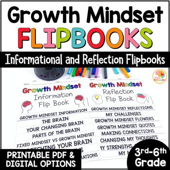 Growth Mindset Flip Books