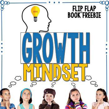 Growth Mindset Flip Flap Book FREEBIE