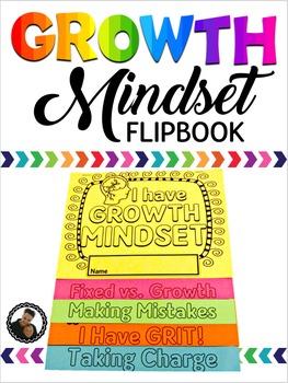 Growth Mindset Flipbook