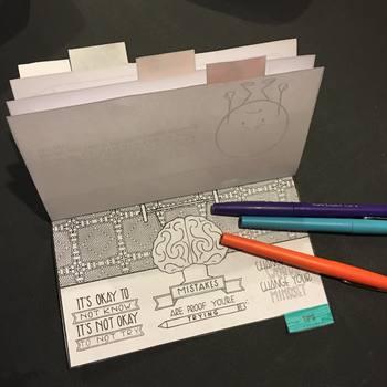 Growth Mindset Flipbook and Zen Bookmarks