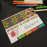 Growth Mindset Flipbook and Zen Bookmarks