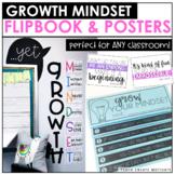 Growth Mindset Flipbook & Posters | Digital Flipbook