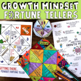 Growth Mindset Lesson + Fortune Tellers: Fun School Counseling & Classroom Game