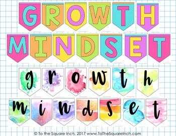 Growth Mindset Free Banner