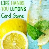 Growth Mindset Game Life Hands You Lemons Cards