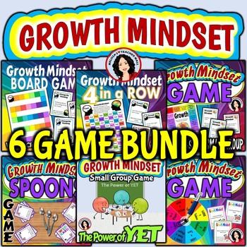 Growth Mindset Game Bundle - 6 Growth Mindset Games
