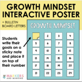 Growth Mindset Giant Bulletin Letters and Interactive Anchor Chart #Ringin2019