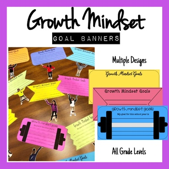 Growth Mindset Goal Banners