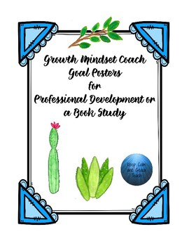 Growth Mindset Goal Posters