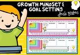 Growth Mindset/ Goal Setting Desk Plates