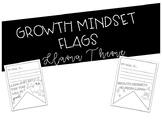 Growth Mindset Goal Setting Flag Llama Themed