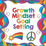 Growth Mindset Goal Setting Sheets for the New Year